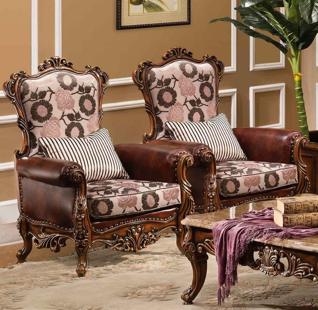 Orleans International Imperial Accent Chair