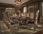 AICO Villa Valencia Rectangular Dining Set