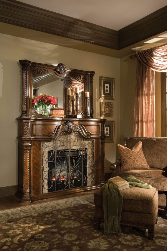 AICO Windsor Court Fireplace