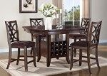 5-Pc Acme Keenan Counter Height Dining Set