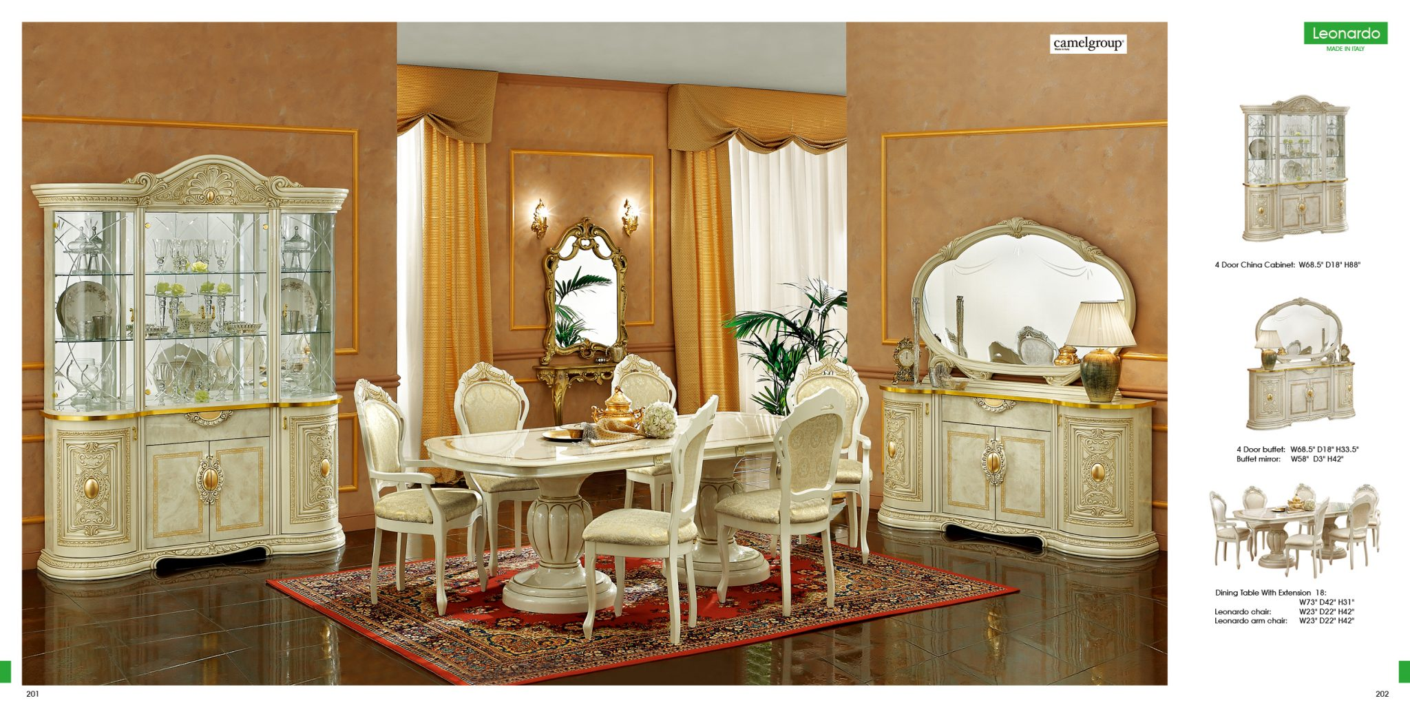 Italian Lacquer Dining Room Furniture Collections Taymobleclassiclivingspain Alondrasectional