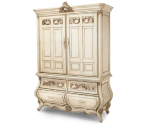 AICO Platine de Royale 2 Door Chest Champagne 09071-201