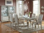AICO Hollywood Loft Frost Dining Set