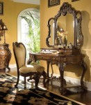 AICO Palais Royale 4-Pc Vanity Writing Desk Set