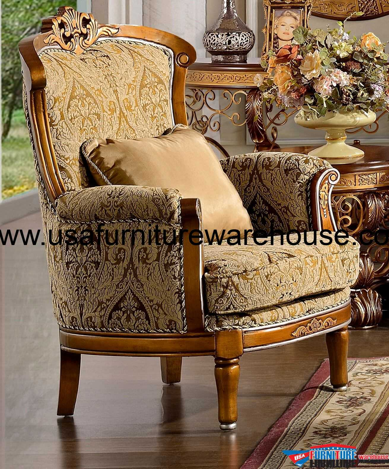 Hd 369 homey design royal chair for Hd furniture designs