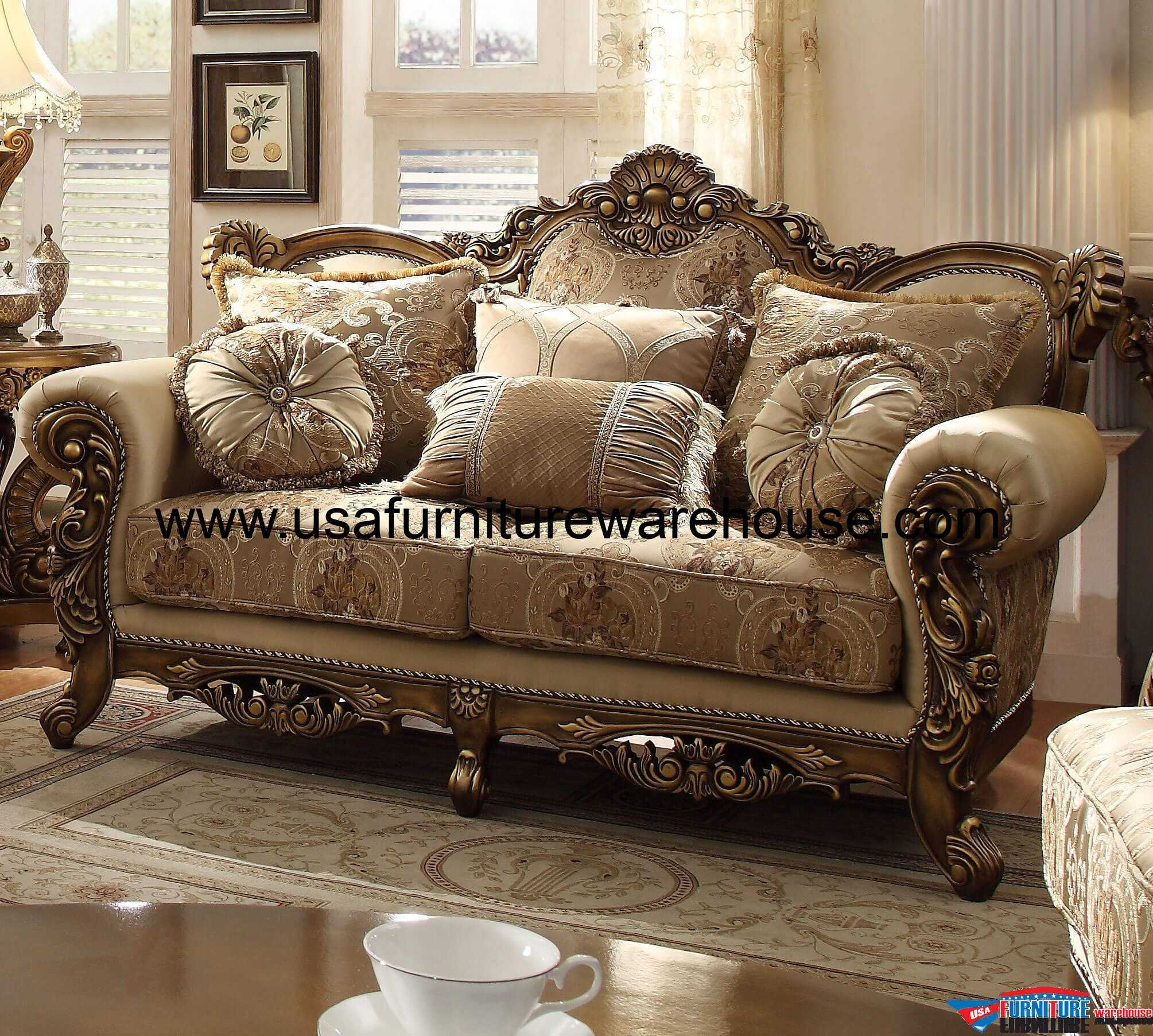 Hd 506 homey design vienna sofa for Hd furniture designs