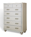 AICO Bel Air Park 6 Drawer Chest Champagne 9002070-201