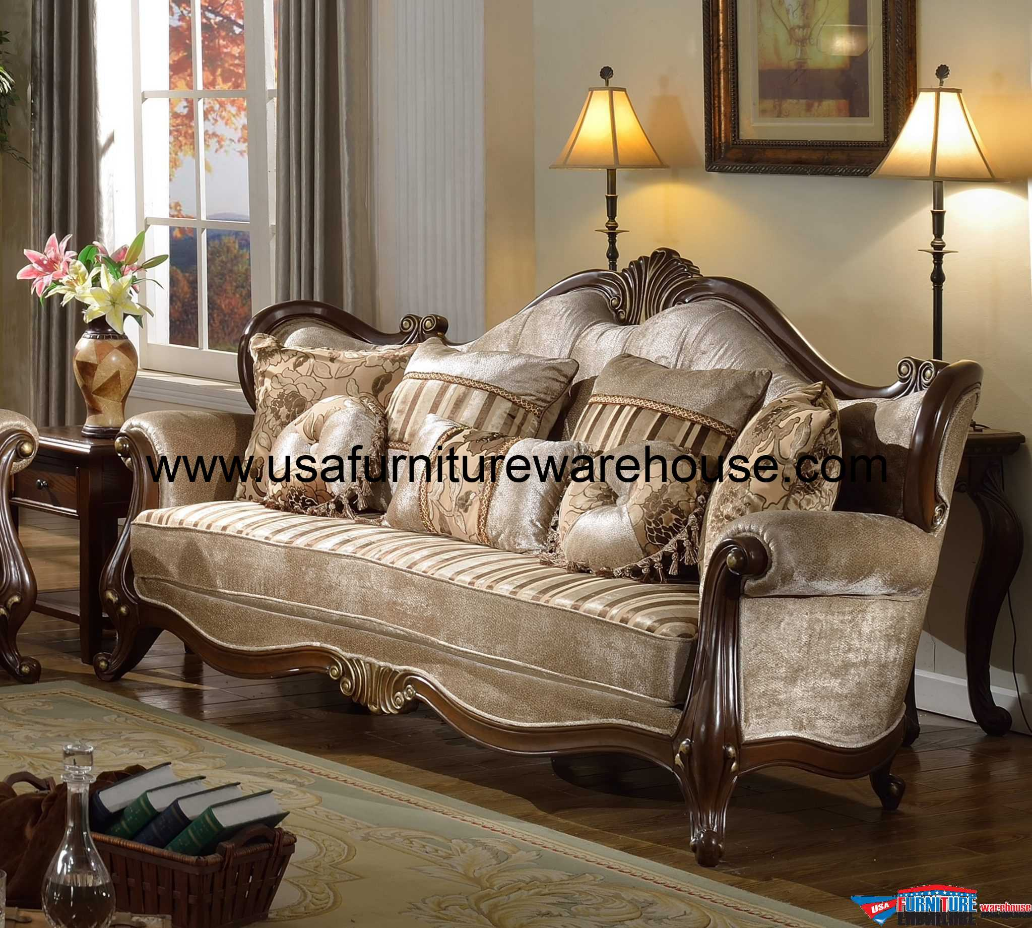 European Sofa European Style Living Top Grade Sofa ...