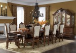 11 Piece AICO Tuscano Melange Rectangular Dining Set