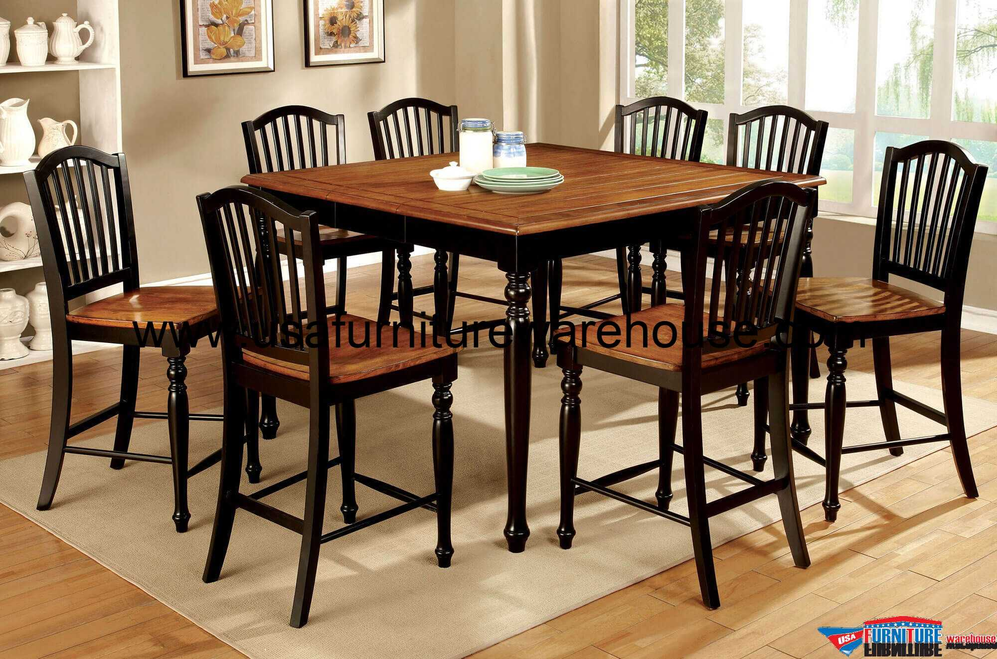 Maywille Counter Height Dining Set