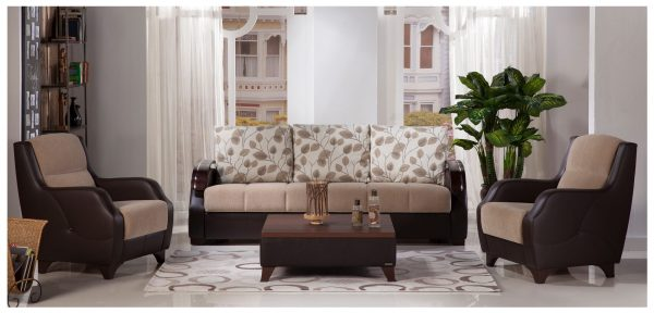 Costa Sofa Bed Armoni Vizon