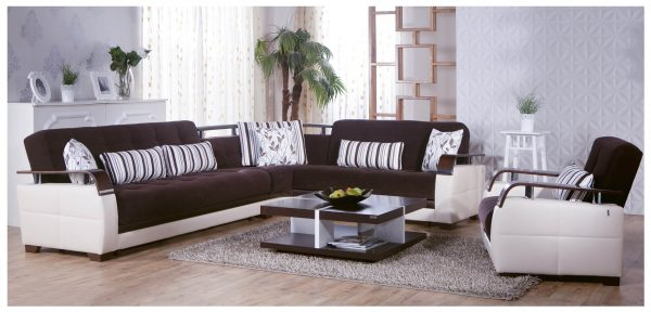 Dogal Convertible Sectional