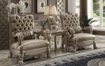 Dresden Accent Chair Bone Velvet 52092