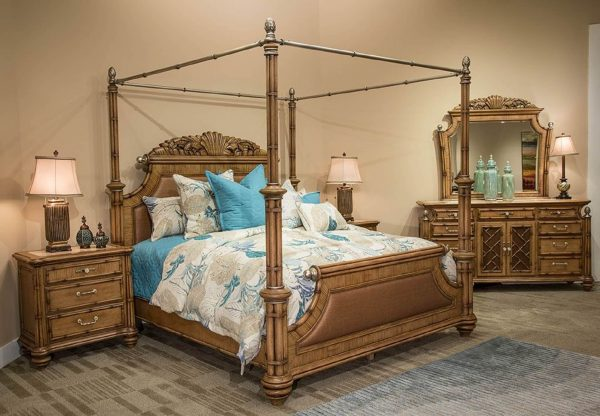 Excursions Canopy Bedroom Set