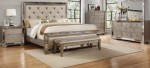 Celine Silver Bronze Mirror Bedroom Set