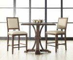 Devon Rustic Java Square Counter Height Dining Set