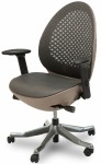 AICO Linq Mid Charcoal Mesh Swivel Chair