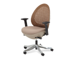 AICO Linq Mid Mandarin Mesh Swivel Chair