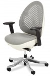 AICO Linq Mid Snowy Swivel Chair