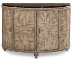 Pavilion Accent Door Chest With Marble Top