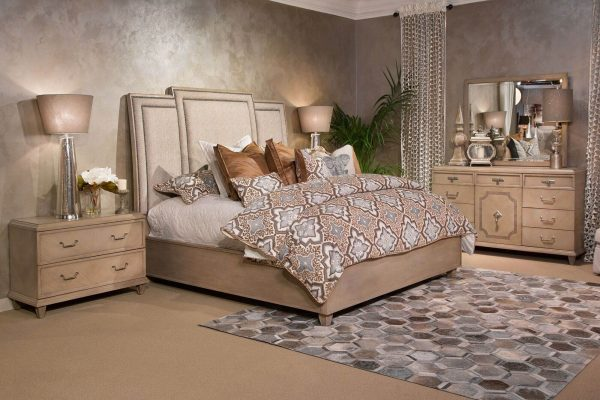 Aico Tangier Coast Panel Bedroom Set