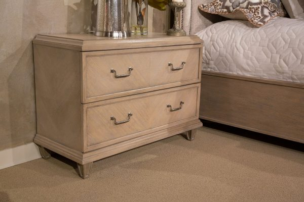 Aico Tangier Coast 2 Drawer Nightstand