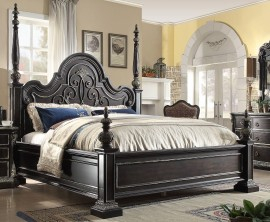 4 piece mcferran b5188 florence panel bedroom set