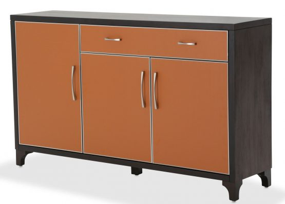 Aico 21 Cosmopolitan Orange Sideboard