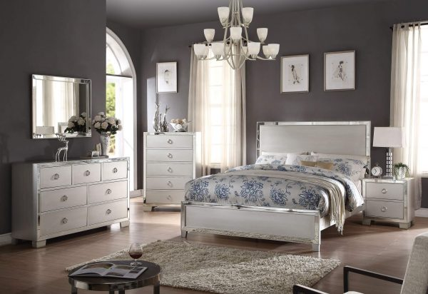 Acme Voeville II Platinum Bedroom Set