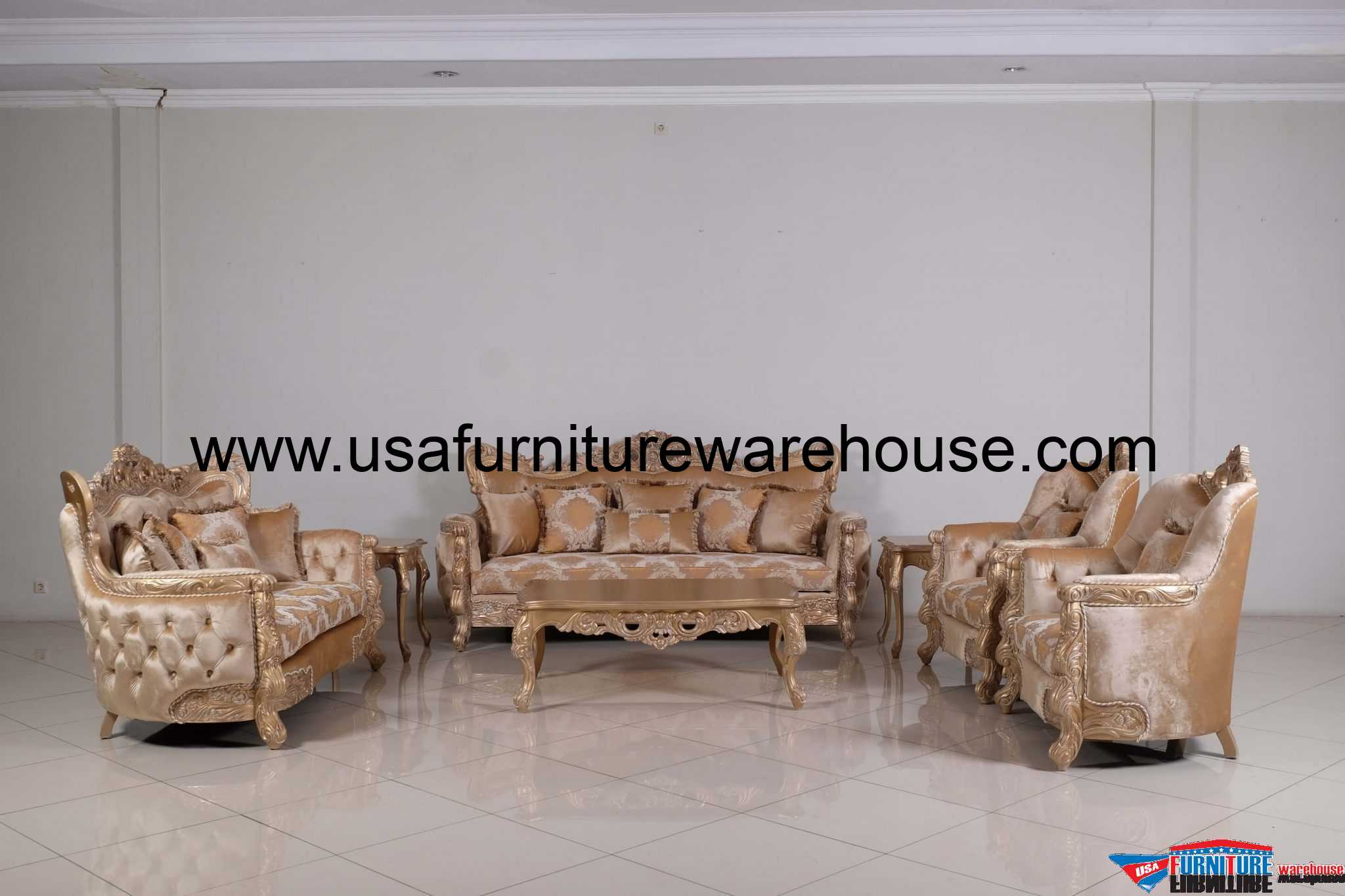 European Furniture Imperial Palace Sofa Usa Furniture Warehouse