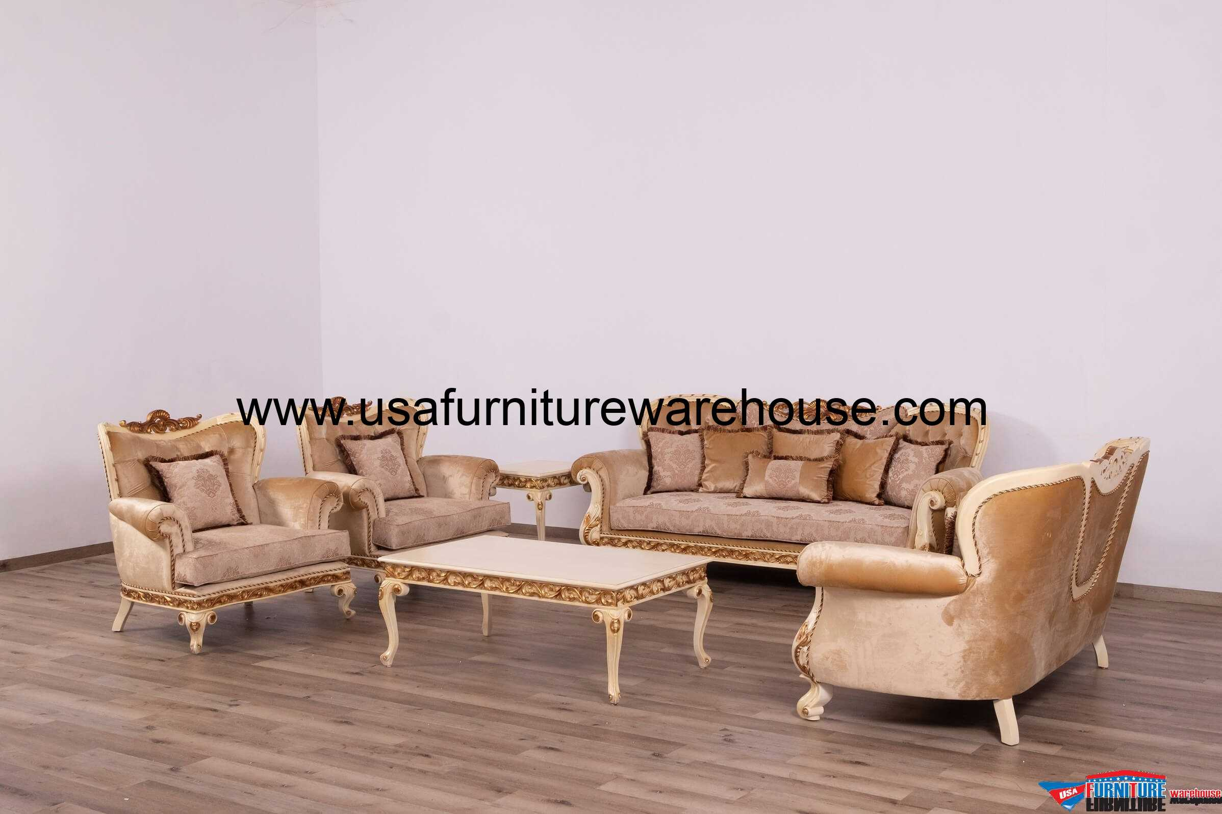 European furniture fantasia luxury sofa set